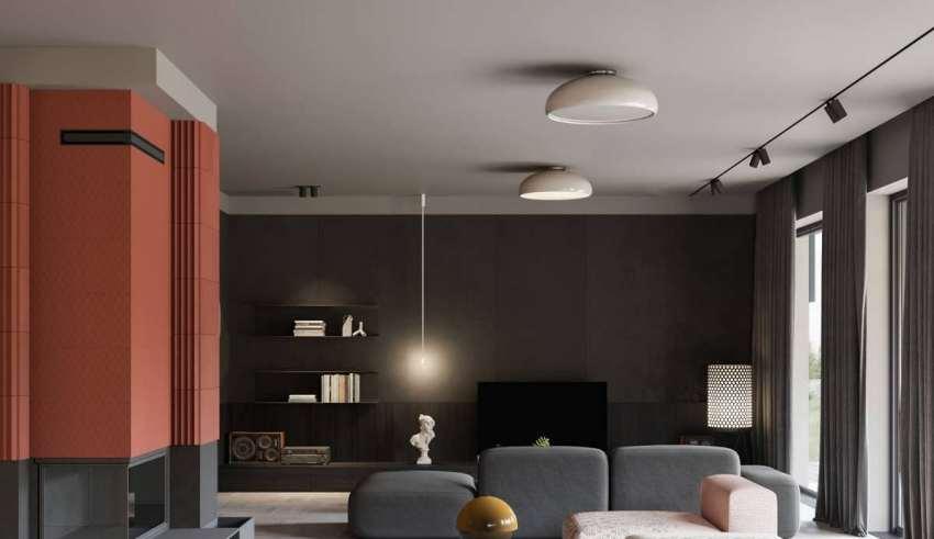 طراحی عالی و متفاوت اتاق پذیرایی به سبک مینیمال