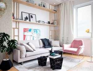 طراحی اتاق نشیمن با ایده های جذاب
