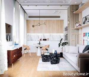 طراحی فوق العاده جذاب در فضای داخلی منزل