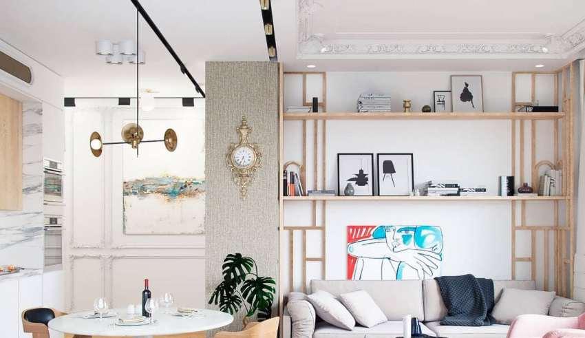 طراحی خلاقانه اتاق پذیرایی