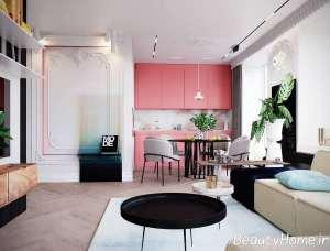 ایه های متفاوت در فضای داخلی منزل