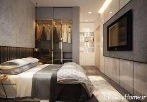 دیزاین اتاق خواب جذاب