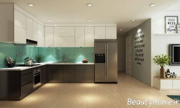 دیزاین جالب و مدرن خانه کوچک