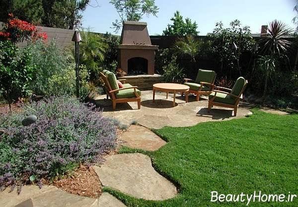 طراحی عالی و متفاوت فضای سبز منزل