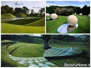 طراحی مدرن فضای سبز عمومی