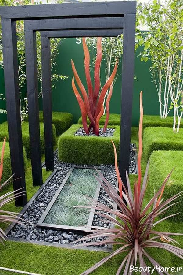 فضای سبز زیبا