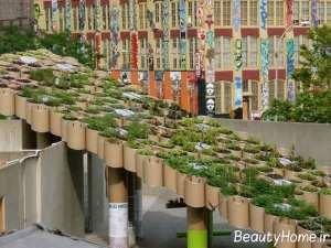 فضای سبز شهری متفاوت