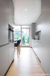 دیزاین محیط داخلی منزل با تم زرد و آبی