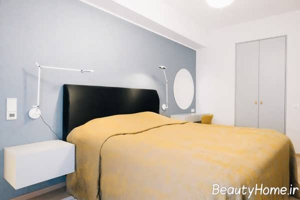 ترکیب رنگ زرد و آبی در دکوراسیون منزل