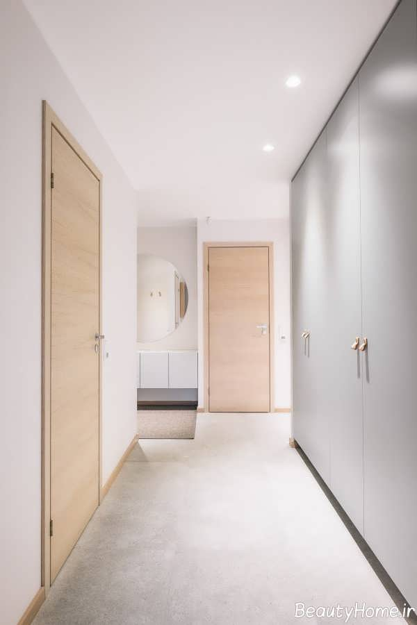 طراحی داخلی فضای منزل با تم زرد و آبی