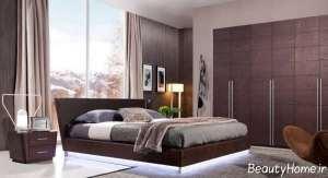 دکوراسیون داخلی اتاق خواب چوبی