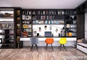 طراحی داخلی اتاق کار