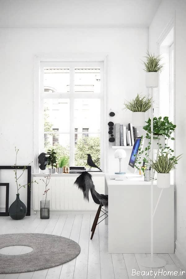 طراحی عالی اتاق کار