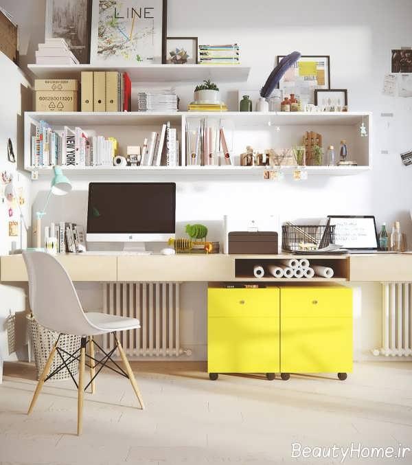 دیزاین خلاقانه اتاق کار