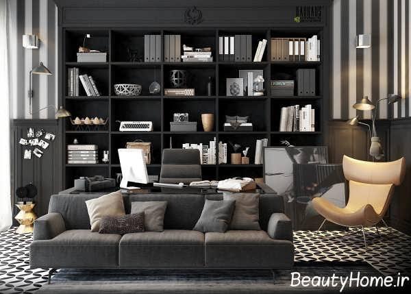 طراحی فوق العاده اتاق کار