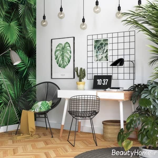 دکوراسیون مدرن اتاق کار در منزل