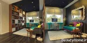 دکوراسیون ایده آل اتاق کار در فضای منزل