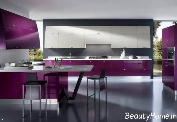 دیزاین ایده آل آشپزخانه طرح جزیره