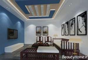 طراحی لاکچری کناف سقف