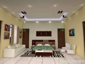 تزیین زیبای کناف سقف