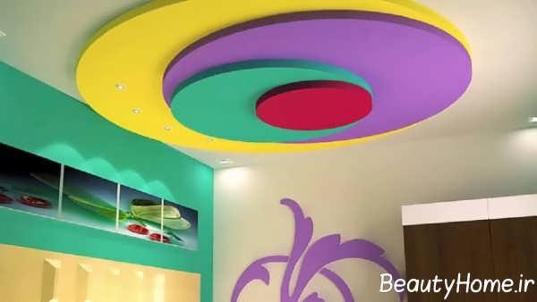 دیزاین زیبای کناف سقف