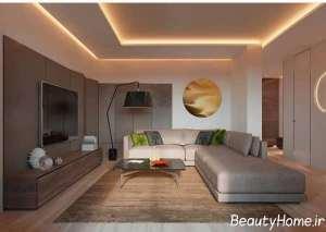 دیزاین لاکچری کناف سقف