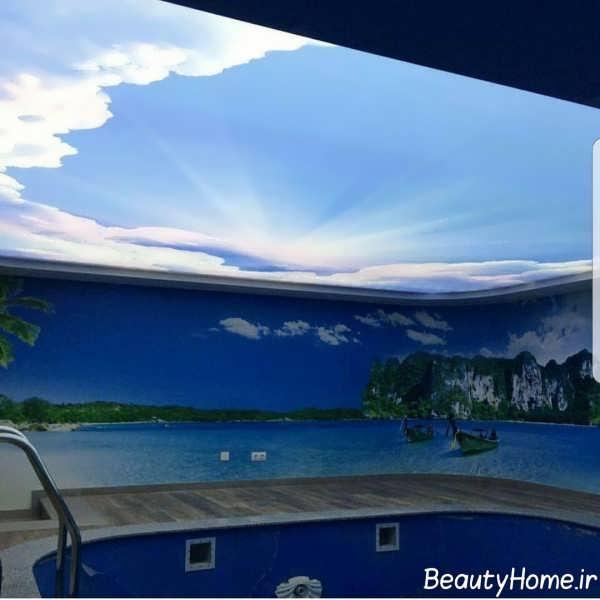 دیزاین جالب کناف سقف