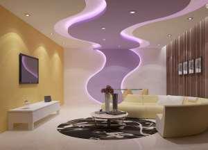 طراحی زیبای کناف سقف