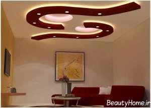 طراحی متفاوت کناف سقف