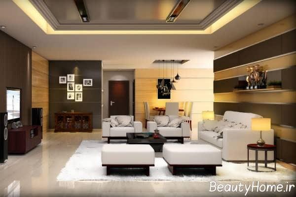 طراحی فوق العاده کناف سقف