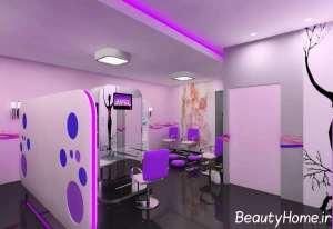 دیزاین فوق العاده آرایشگاه