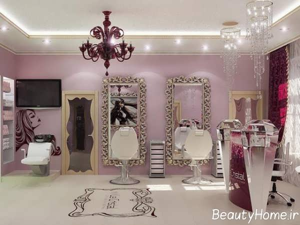 طراحی متفاوت سالن آرایشی
