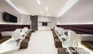 طراحی مدرن سالن زیبایی