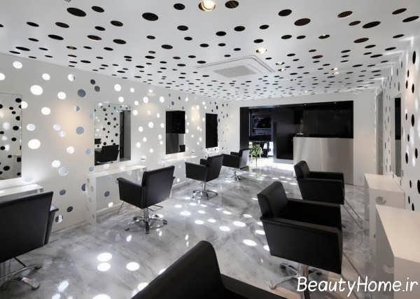 دکوراسیون متفاوت سالن زیبایی