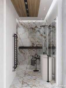 چیدمان فوق العاده حمام