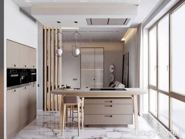 طراحی شیک آپارتمان