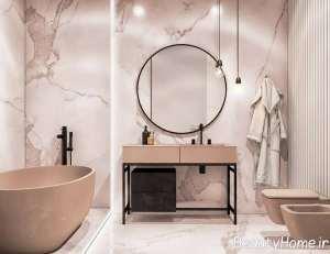 سنگ مرمر در حمام
