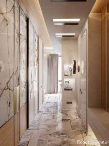 طراحی لاکچری فضای داخلی آپارتمان