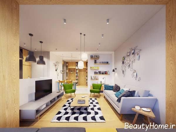 طراحی داخلی منزل با الهام از طبیعت