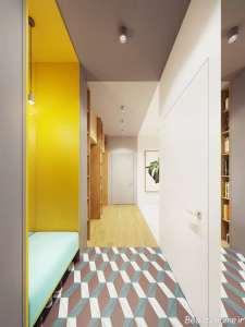 طراحی داخلی راهرو ورودی