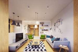 دکوراسیون رنگی منزل