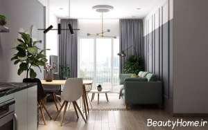 دیزاین عالی آپارتمان کوچک
