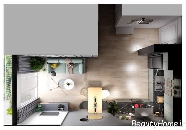 دیزاین مدرن آپارتمان