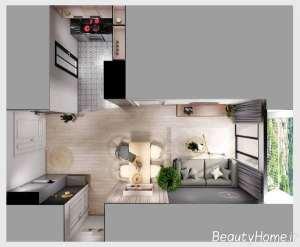 دیزاین شیک آپارتمان