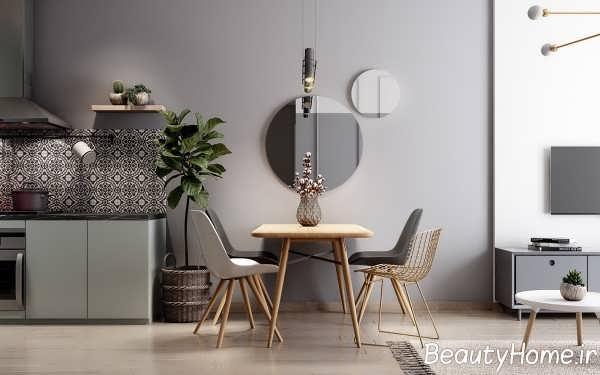 طراحی متفاوت آپارتمان کوچک
