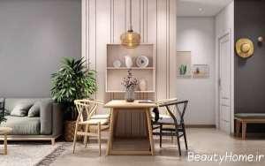 طراحی جذاب آپارتمان کوچک