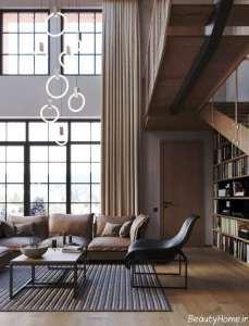 مدل لوستر شیک برای سالن پذیرایی