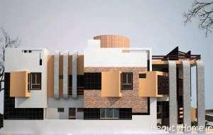 دیزاین ظریف نمای ساختمان
