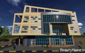 نمای اداری ساختمان