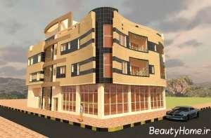 نمای متفاوت ساختمان